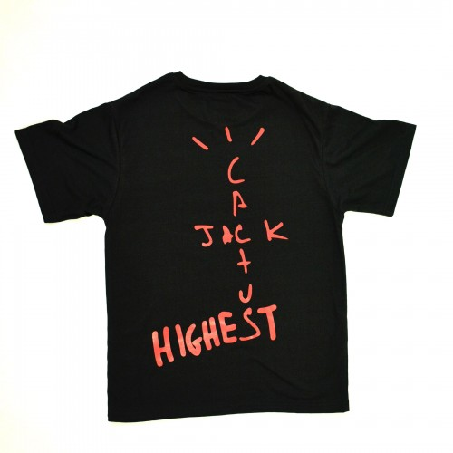 Cactus Jack Highest Tee Black [HOP Batch]